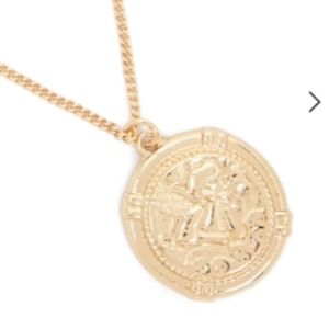 Jewelry - New Gold layered coin chain necklace